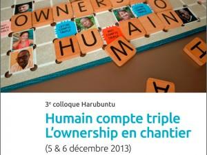 Actes du Colloque Harubuntu 2013