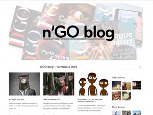 Lancement du n'GO Blog
