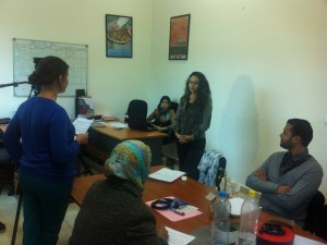 Ontmoeting met onze partners in Oujda voor de consolidatie van onze projecten